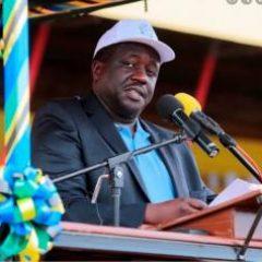 Mwenyekiti Taifa Ndg Tumain P. Nyamhokya
